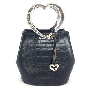 BRIGHTON Corazon Double Heart Handle Bag